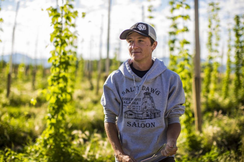 Crooked Yard Hops Founder Jake TeSelle