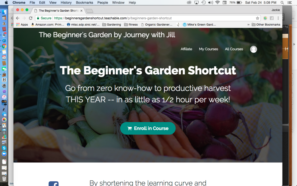 Beginner's Garden Shortcut