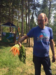 carrots from Mike's Green Garden