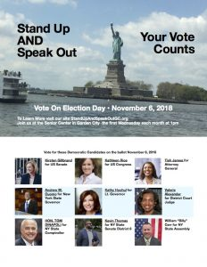 Stand Up AND Speak Out Vote Postcards