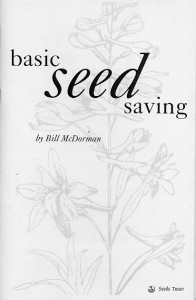 Basic Seed Saving Cover
