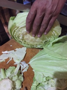 Organic Cabbage Rosettes recipe