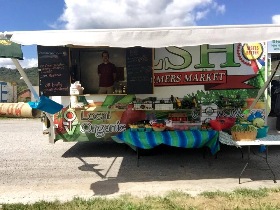 Farmer's Market Mobile Food Truck