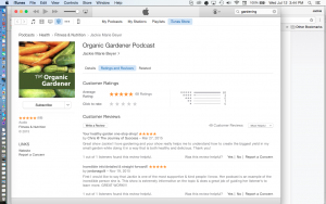 iTunes Ratings and Review Tab