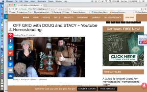 Off the Grid with Doug and Stacy