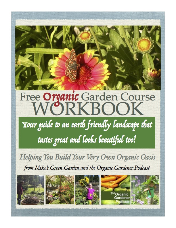 Free Organic Garden Course Workbook Cover