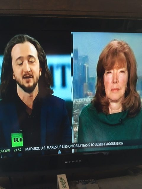 Lee Camp and Ellen Brown