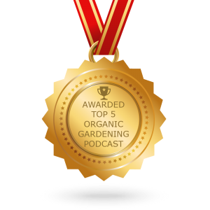 Top Five Organic Gardening Podcast Award