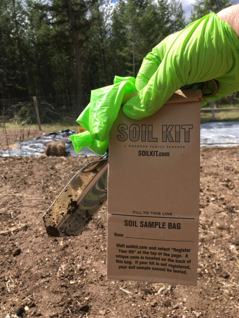 soilkit.com sample bag
